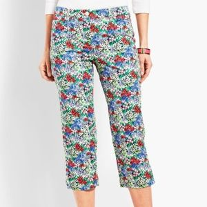 TALBOTS PERFECT SKIMMER - FLORAL 16WP